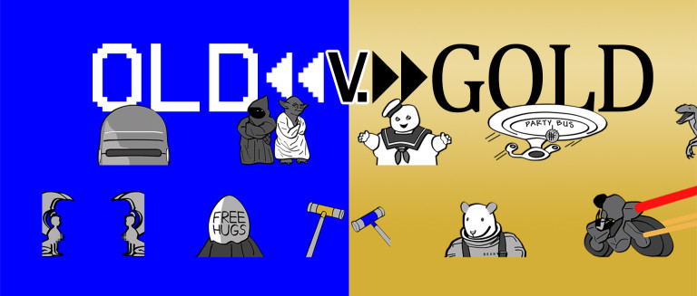 Old v. Gold, the podcast that holds your fond childhood memories up to the harsh light of today