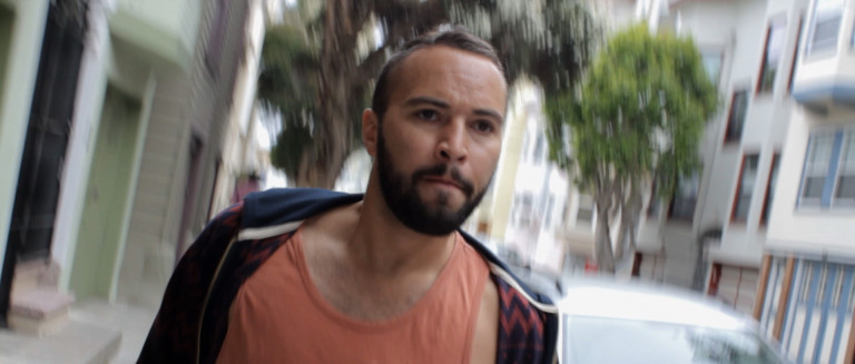 Anthony (Adrian Anchondo) faces the outcomes of his myriad choices during a crisis in Hidden Deadly's short film 'Split Seconds.'